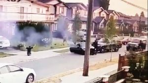 New video of a police takedown in Burnaby last month