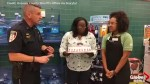 Florida police department throws birthday party for daughter of fallen officer