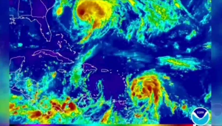Maria forecast to intensify to Category 4 'dangerous major hurricane'