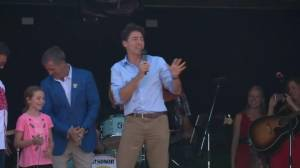 Justin Trudeau hails CP Rail as a way to celebrate Canada 150