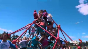 Park Meadows School unveils accessible and all-inclusive playground
