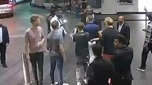 Security camera footage released of Conor McGregor 'phone snatching' incident