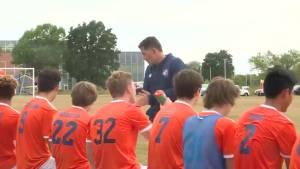 Kingston Pegasus U-18 soccer club wins league championship