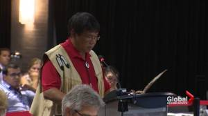 First Nations leaders voice concerns at Energy East hearings in Saint John