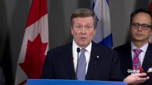 Tory says he doesn't want to be treated 'as a little boy going up to Queen's Park in short pants'