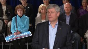 Harper: There are 1.3 million more Canadians working