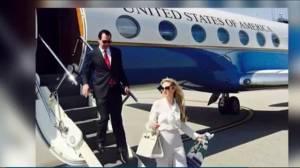 U.S. treasury secretary used government plane to view eclipse