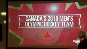 Canada unveils men's hockey team for 2018 Winter Olympics