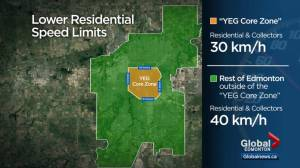 Edmonton to explore two-tier approach to residential speed limits