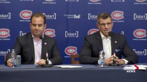 Geoff Molson says Habs 'weren't good enough'