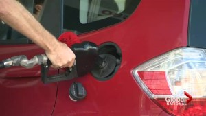Drivers get Christmas treat at gas pumps