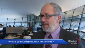 What's on Toronto City Council's Christmas wish list for this year?