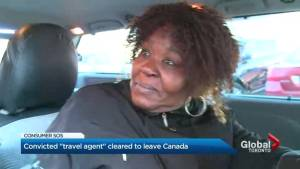 Convicted fake Toronto travel agent allowed to visit Trinidad (02:11)