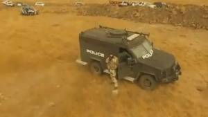 Police open fire on drone at North Dakota pipeline protest