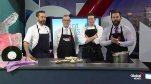 Edmonton Chef Cooking Challenging