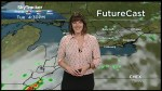 Thunderstorm risk for Wednesday
