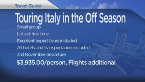 The Travel Lady: touring Italy in the off season