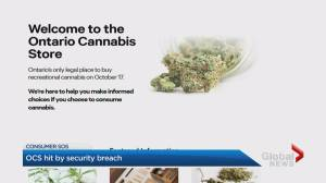 Security Breach at Ontario Cannabis Store (02:05)