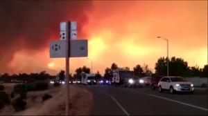 Fast-moving wildfires in northern California kill 2 people
