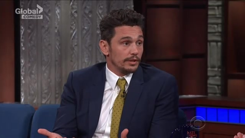 Click to play video 'James Franco denies sexual harassment allegations'