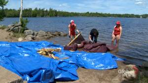 Illegally dumped sofa causes Halifax beach closure