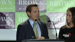 Ontario Municipal Election: Patrick Brown talks about plans as Brampton mayor