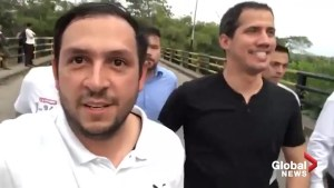 Juan Guiado defies Venezuela travel ban, arrives in Columbia