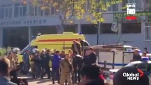 At least 17 people killed in attack on Crimea college