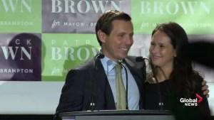 Ontario Municipal Election: Patrick Brown full victory speech