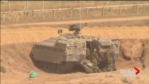 Israeli troops deploy on border of Gaza in anticipation of further protests