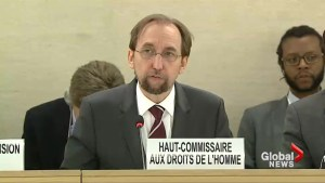 U.N. human rights chief launches blistering critique of Israel
