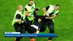 Anti-Kremlin group Pussy Riot claims responsibility for World Cup final pitch invasion