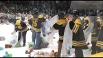 Peterborough Petes fans support Teddy Bear Toss Night