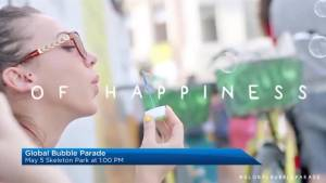A preview of Kingston's first Global Bubble Parade