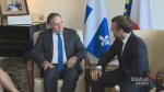 Legault seeks to strengthen ties