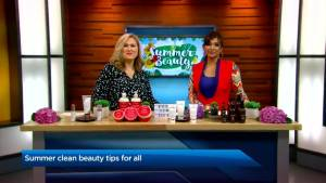 Essential summer beauty tips