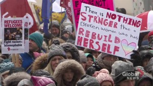 Hundreds take part in Toronto Women's March