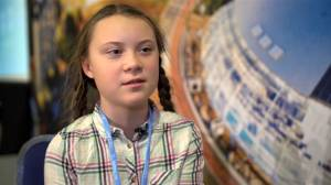 Teenage activist claims politicians lie about climate to win elections