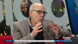 Newly-elected Alberta Party leader Stephen Mandel shares plans for the future