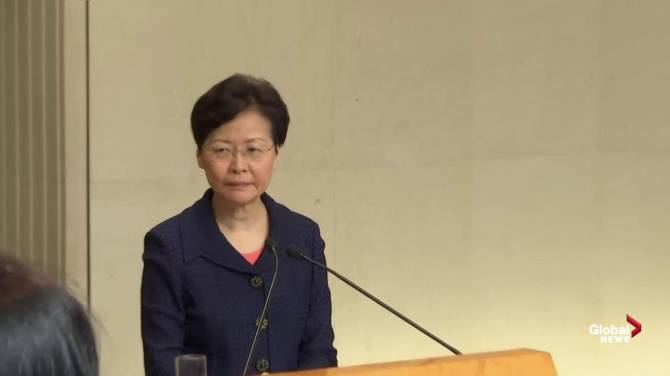 Hong Kong leader Carrie Lam wants 'communication.' Protesters want her resignation