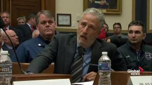 Jon Stewart slams 'shameful' Congress for lack of action on 9/11 first responders