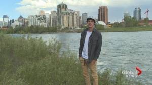Calgary man lifted from Bow River raft by apparent water devil: 'Wild ride'