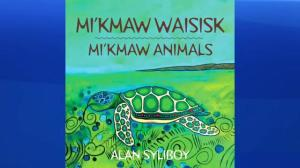 "Baby board book ""Mi'kmaw Animals"""
