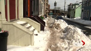 Frustration growing in Halifax over slippery sidewalks