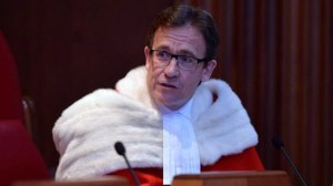 Supreme Court Justice Clement Gascon says he had panic attack before brief disappearance