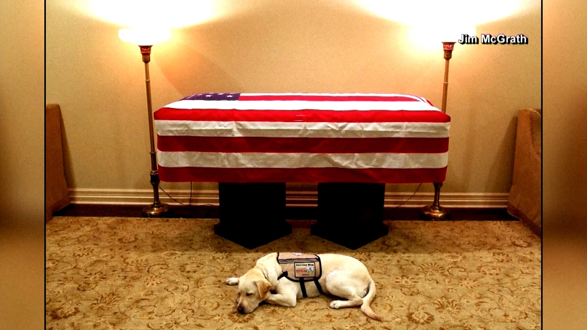 Body Of George H.W. Bush Returns To Washington