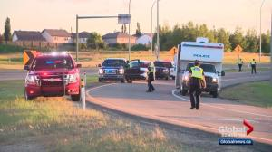 1 person dead, 1 injured in west Edmonton collision after police pursuit