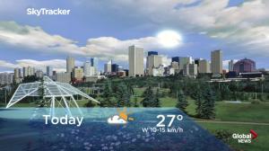 Edmonton early morning weather forecast: Thursday, July 12, 2018