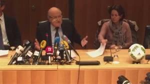 Blatter insists he's still FIFA's president despite suspension