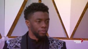 Oscars 2018: 'Black Panther' actors celebrate black culture at 90th Oscars